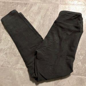 Solid gray leggings